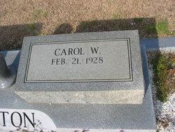 Carol Odell <i>Walker</i> Barton