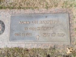 Alma Lee <i>Pickett</i> Barnett