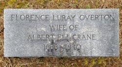 Florence Luray <i>Overton</i> Crane