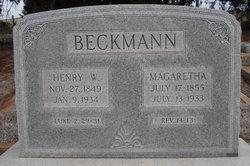 Margaretua Beckman
