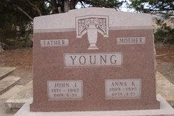Anna K <i>Minnick</i> Young