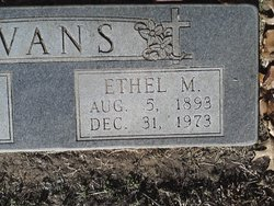 Ethel Marie <i>Courson</i> Evans