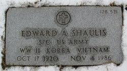 Edward A Shaulis