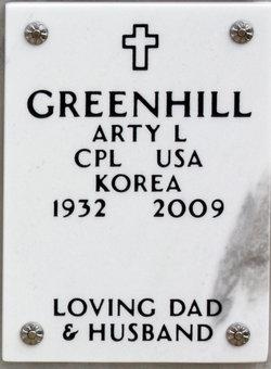 Arty L Greenhill