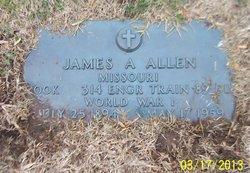 James Alfred Allen