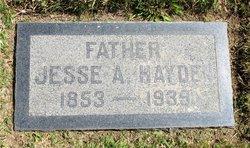 Jesse A. Hayden