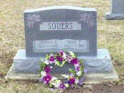 Irene Frances Teach <i>Hughes</i> Souers
