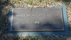 Mary Sybil <i>Morton</i> Griffin