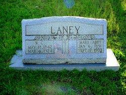 Mary Abner Abby <i>Dunagan</i> Laney