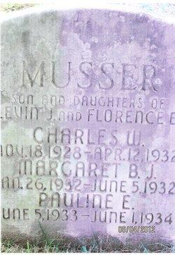 Margaret Betty Jane Musser