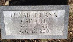 Elizabeth Ann Caddell