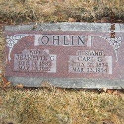 Carl Gustav Ohlin