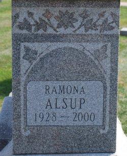 Ramona M <i>Scribner</i> Alsup