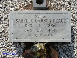 Isabelle Carson <i>Devling</i> Peace