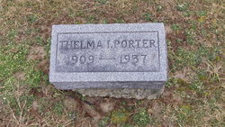 Thelma Irene <i>Wyer</i> Porter