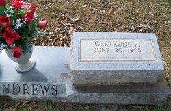 Alma Gertrude <i>Futch</i> Andrews