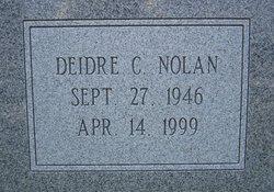 Deidra C Nolan