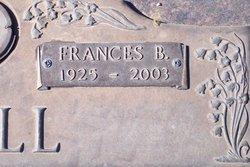 Frances B <i>Bowyer</i> Doll