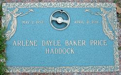 Arlene Dayle <i>Baker</i> Haddock
