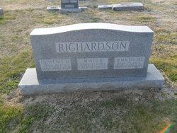 Agnes L <i>Brownfield</i> Richardson