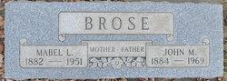 John M Brose