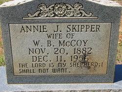 Annie J <i>Skipper</i> McCoy