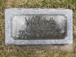 Mary Etta <i>Randall</i> Adams