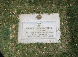 Harold Chappell