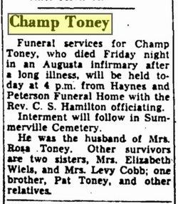 Champ Toney