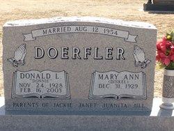 Donald L Donnie Doerfler