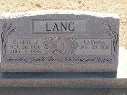 Eugene J Lang