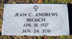 Jean <i>Chandler</i> Broach