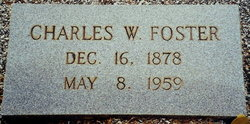 Charles Wesley Charlie Foster