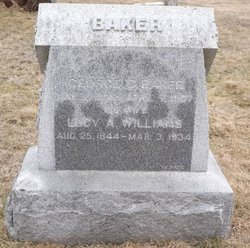 Lucy A. <i>Williams</i> Baker