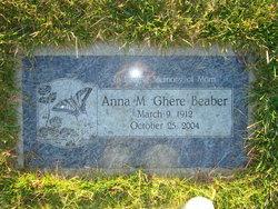 Anna Magdalena Ann <i>Schock</i> Beaber