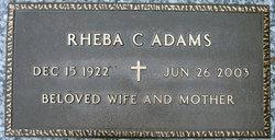 Rheba Constance <i>McKaughan</i> Adams