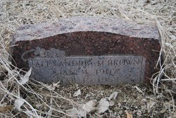 Alexandria M. Brown