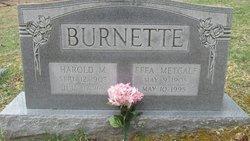 Effa Betsy <i>Metcalf</i> Burnette