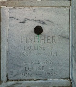 Louise H <i>Hartmann</i> Fischer