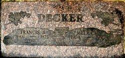 Francis Jasper Deck F.J. Decker