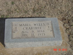 Mabel Addie <i>(Wells)</i> Crabtree