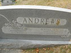 Bertha <i>Hendrix</i> Andrews