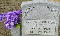 Evelyn Jean <i>Thompson</i> Pitts