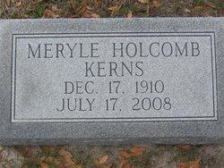 Meryle <i>Holcomb</i> Kerns