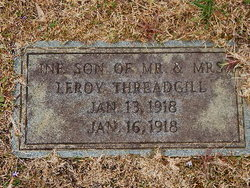 Infant Son Threadgill