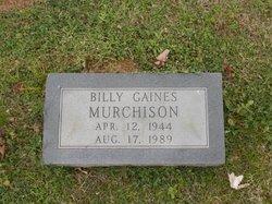 Billy Gaines Murchison