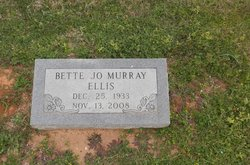 Bette Jo <i>Murray</i> Ellis