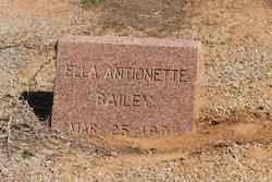 Ella Antionette Bailey
