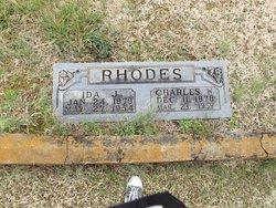 Ida Jane <i>Fesmire</i> Rhodes
