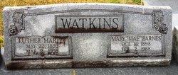 Mary Mahalia Elizabeth Mae <i>Barnes</i> Watkins